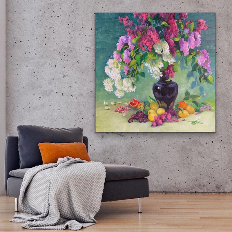 Lilacs and Lemons in situ